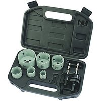 Wickes Electricians Hole Saw Set 9 Piece