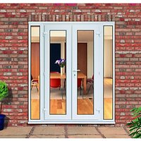 Wickes Upvc French Doors 7ft with 2 Demi Panels 300mm