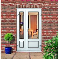 Wickes Upvc Offset Panelled French Door 4ft
