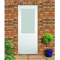 Wickes Tamar Pre-hung Upvc Door 2085 x 920mm Left Hand Hung