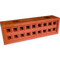 Wickes Square Hole Clay Airbrick 215x65mm