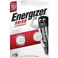 Energizer CR2032 Lithium Coin Cells 2 Pack