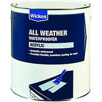 Wickes Acrylic High Performance Roof Waterproofer 4L