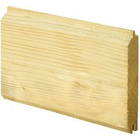 Wickes PTGV1S Cladding 19x94x2400mm PK4