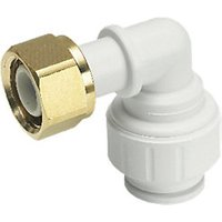John Guest Speedfit Bent Tap Connector 10mm x 1/2in