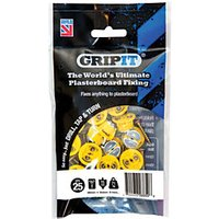 GripIt 15mm Plasterboard Fixing 4 x 25mm Pack of 25