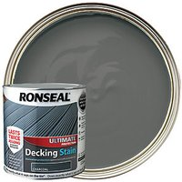 Ronseal Ultimate Protection Decking Stain - Charcoal 2.5L