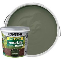 Ronseal One Coat Fence Life - Forest Green 5L