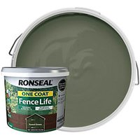 Ronseal One Coat Fence Life - Forest Green 9L