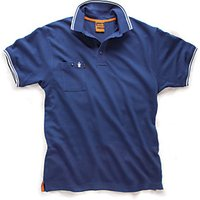 Scruffs Worker Polo Navy S