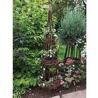 Concentric Willow Obelisk 1.2m - Pack of 2