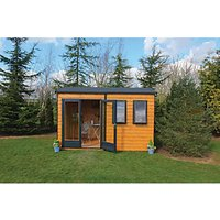 Shire Double Glazed Timber Apex Garden Office  - 12 x 7 ft
