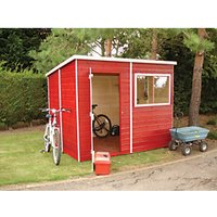 Shire Tongue & Groove Shed - 8 x 6 ft