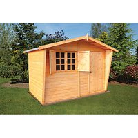 Shire Tongue & Groove Security Cabin - 10 x 8 ft