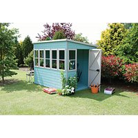 Shire Timber Pent Potting Shed - 8 x 6 ft