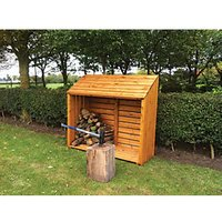 Shire Large Timber Log Store - 5 x 2 ft