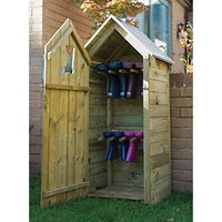 Forest Garden Timber Boot Store - 2 x 2 ft