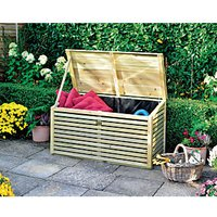 Rowlinson Timber Patio Storette - 4 x 2 ft