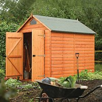 Rowlinson Apex Security Shed - 8 x 6 ft