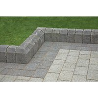 Marshalls Tegula Pennant Grey 130mm Splayed Kerb - Pack of 120
