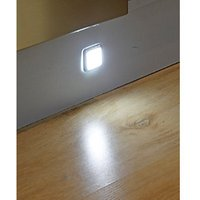 Wickes Sirius Square LED Light Kit 1.5W - Pack of 3