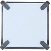 Lutec Armour LED Square Wall Light Anthracite