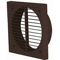 Manrose External Wall Grille 150mm Brown 1192B