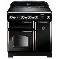 Rangemaster Classic 90 Induction Black Chrome Trim