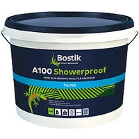 Bostik Non-Slip Ready Mixed Showerproof Adhesive A100 10L