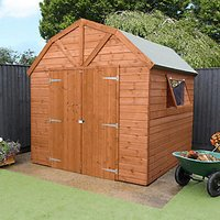 Mercia Premium Shiplap Dutch Barn Shed - 8 x 8 ft