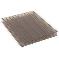 25mm XL Structure Polycarbonate Sheet Bronze 1050 x 4000