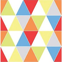 Graham & Brown Harlequin Multicolour Bright Geometric Wallpaper - 10m