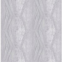 Graham & Brown Boutique Vermeil Stripe Silver Decorative Wallpaper - 10m