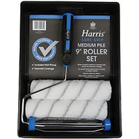 Harris Sure Grip Twin Sleeve Woven Roller Set - 9in