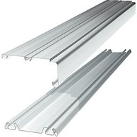 Wickes Sliding Door Trackset WHITE1.8-2.7m