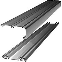 Wickes Sliding Door Trackset Silver 1.2-1.8m