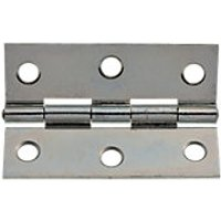 Wickes Butt Hinge Zinc Plated 63mm 20 Pack