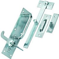 Wickes Suffolk Gate Latch Galvanised