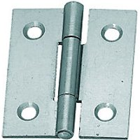 Wickes Butt Hinge Steel 38mm 2 Pack