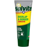 Solvite Overlap and Border Wallpaper Adhesive Tube 240g