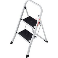 Hailo 2 Tread Steel Step Stool