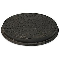 Wickes Round Shallow Access Chamber Cover & Frame 300mm