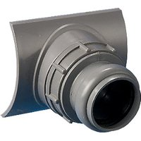 Wickes Grey Soil Pipe Easy Boss Connector