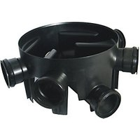 Wickes Black Drain Chamber Base 450mm