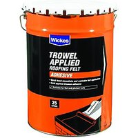 Wickes Trowel On Roofing Felt Adhesive 25L