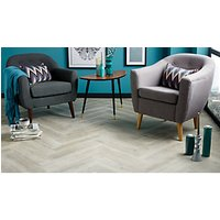 Wickes Timber Grey Wood Effect Porcelain Floor and Wall Tile 150 x 660mm
