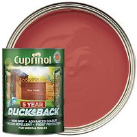 Cuprinol 5 Year Ducksback - Rich Cedar 5L