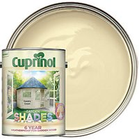 Cuprinol Garden Shades - Country Cream 5L