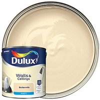 Dulux Matt Emulsion Paint - Buttermilk 2.5L