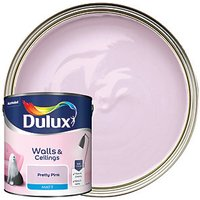 Dulux Matt Emulsion Paint - Pretty Pink 2.5L